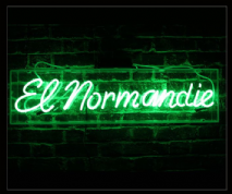 El Normandie Neon Sign